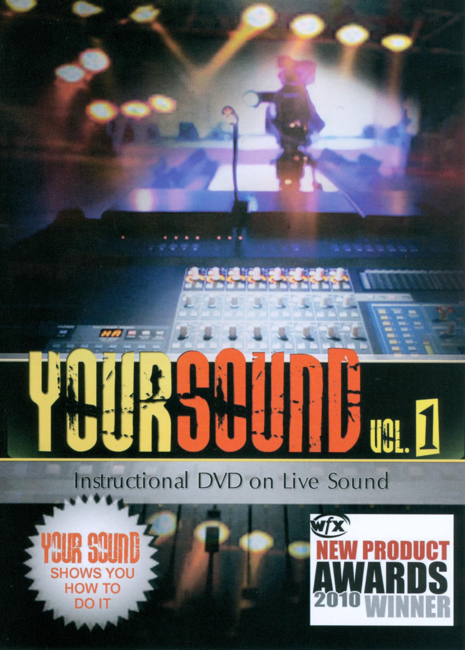 Your Sound, Vol. 1: Instructional DVD on Live Sound
