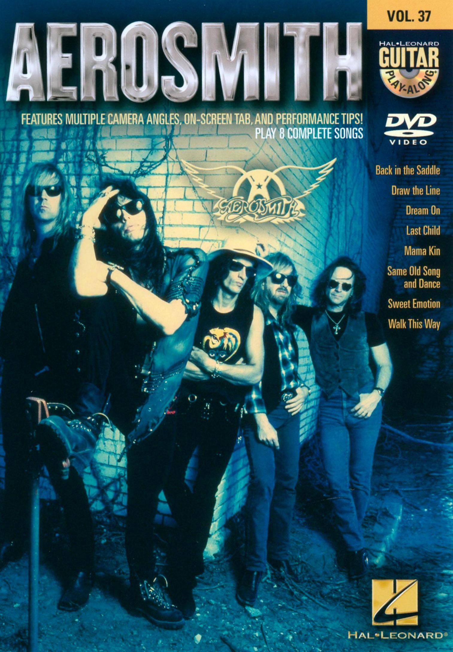Guitar Play-Along, Vol. 37: Aerosmith