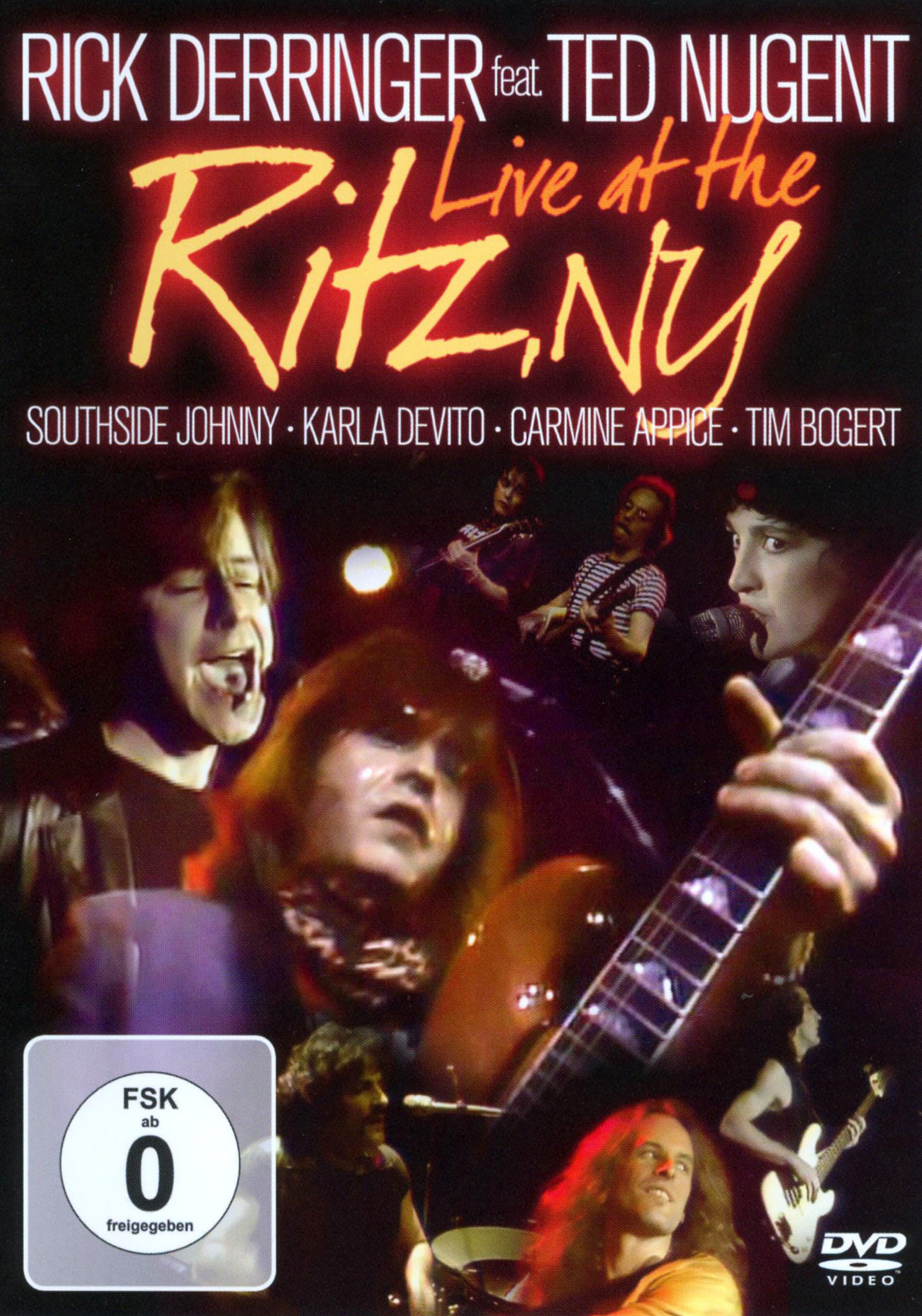 Rick Derringer Featuring Ted Nugent: Live at The Ritz, NY
