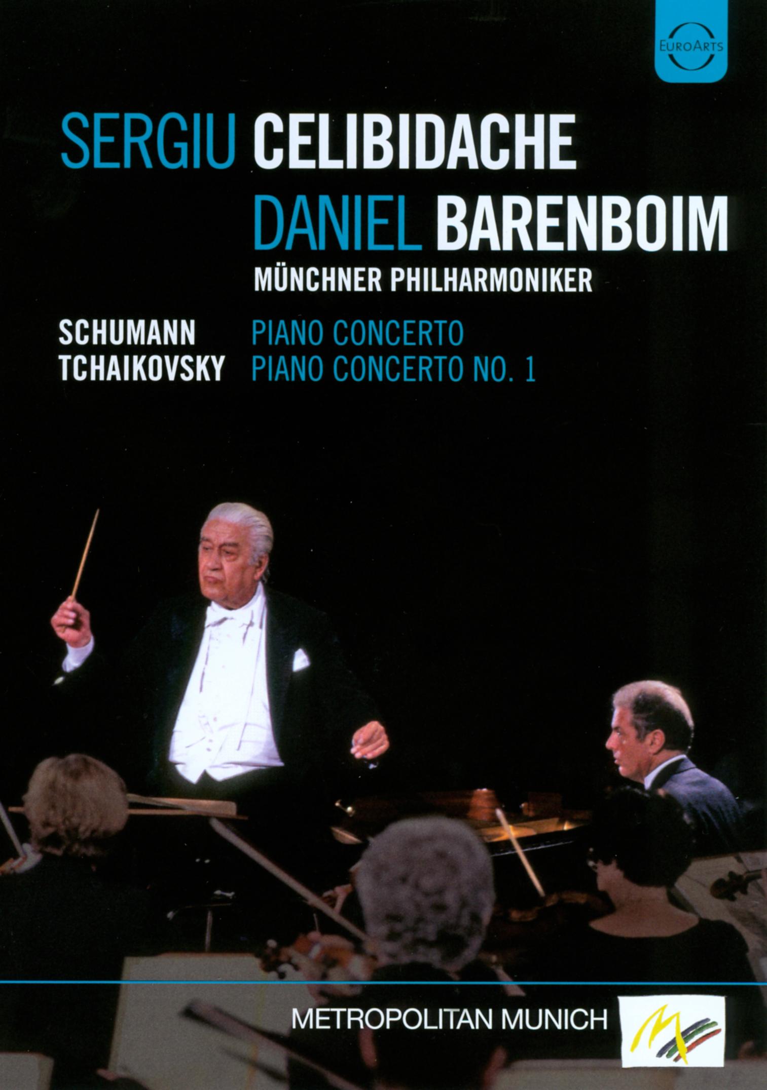 Sergiu Celibidache/Daniel Barenboim: Schumann/Tchaikovsky - Piano Concertos