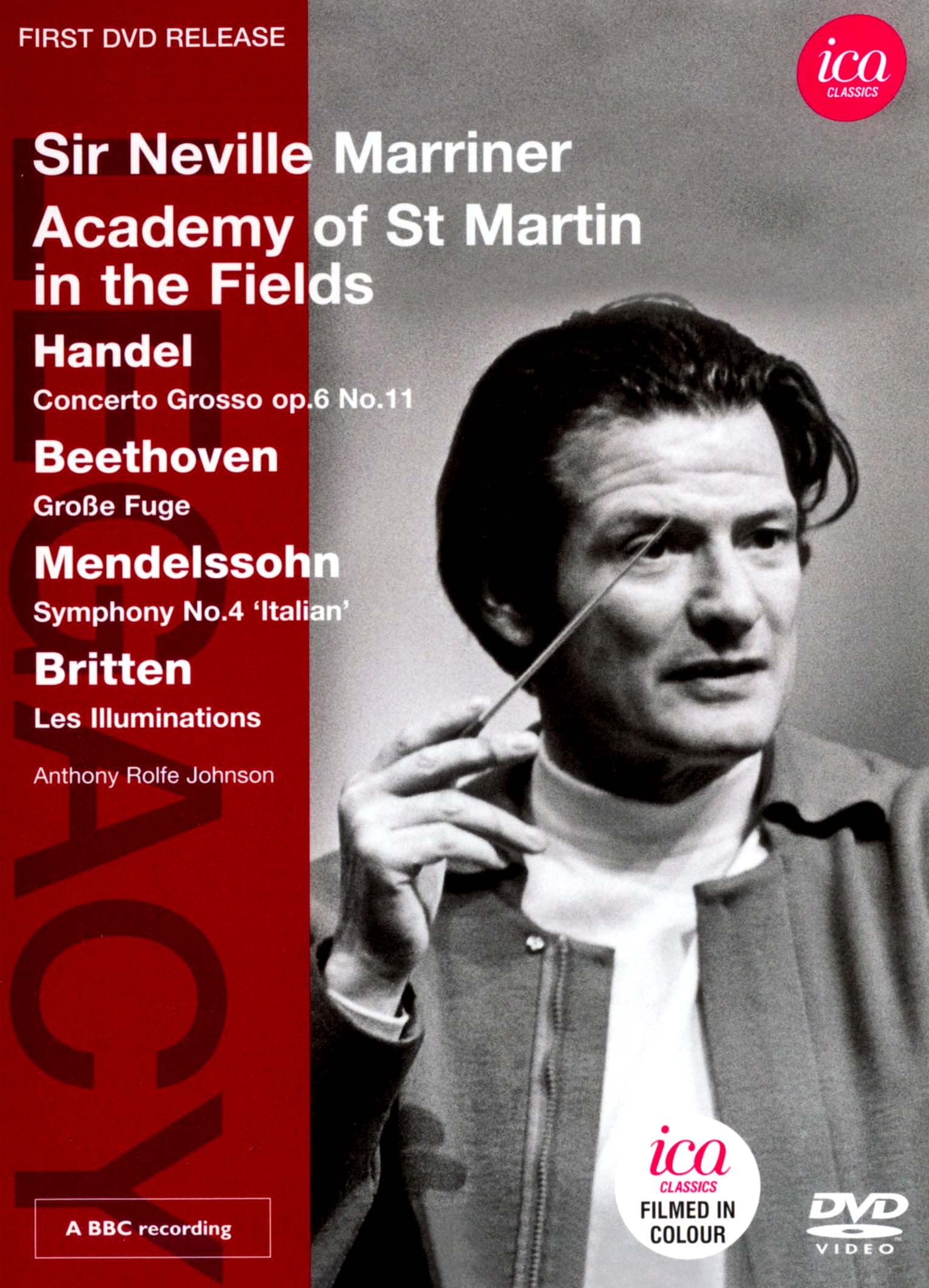Sir Neville Marriner/Academy of St. Martin in the Fields: Handel/Beethoven/Mendelssohn/Britten