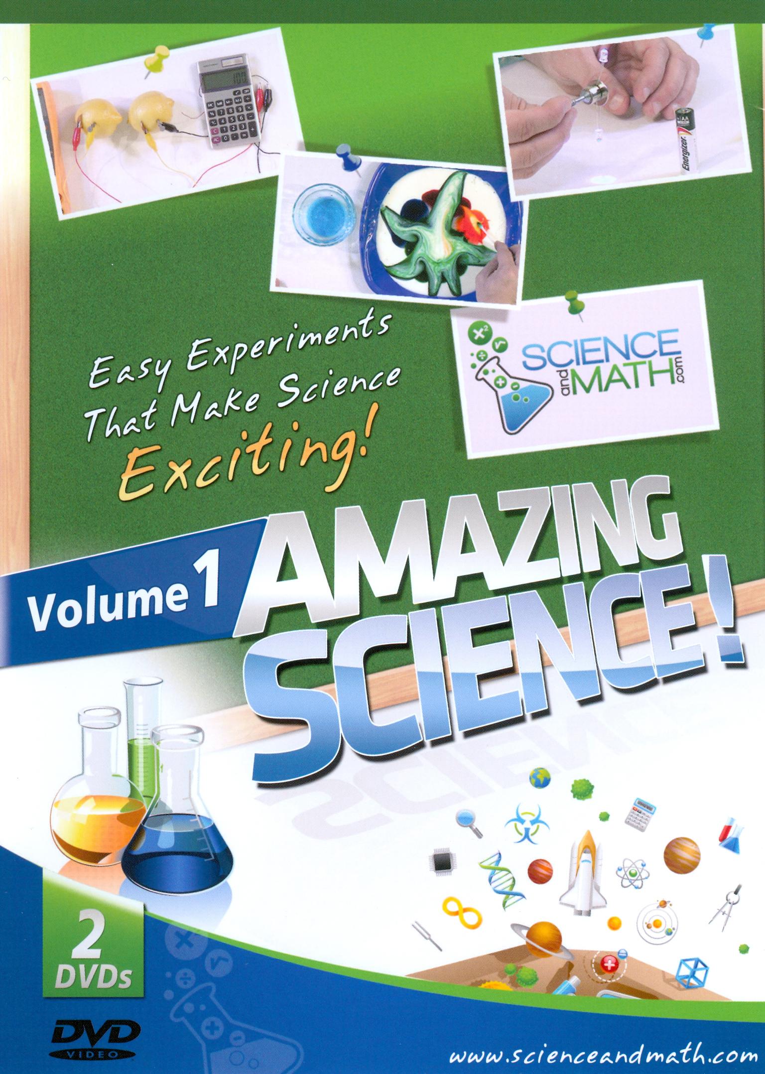 Amazing Science!, Vol. 1