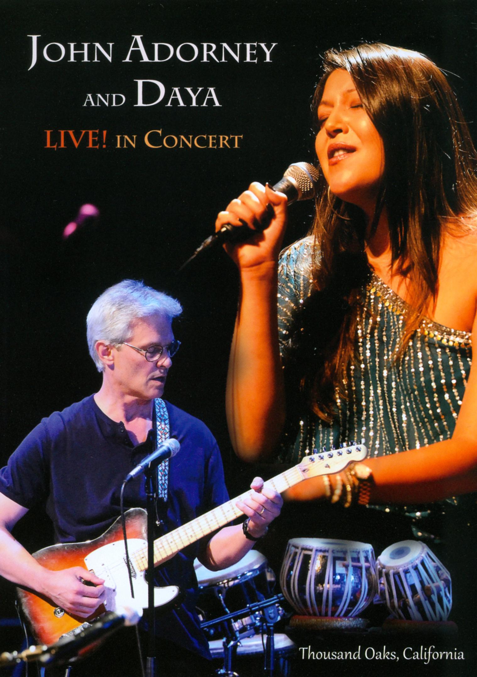 John Adorney and Daya: Live! In Concert