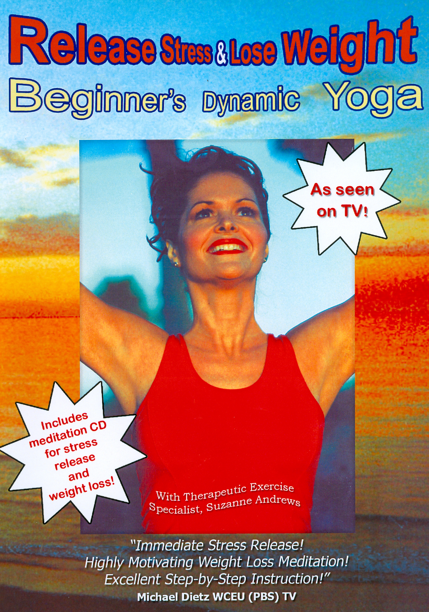 Release Stress & Lose Weight: Beginner's Dynamic Yoga