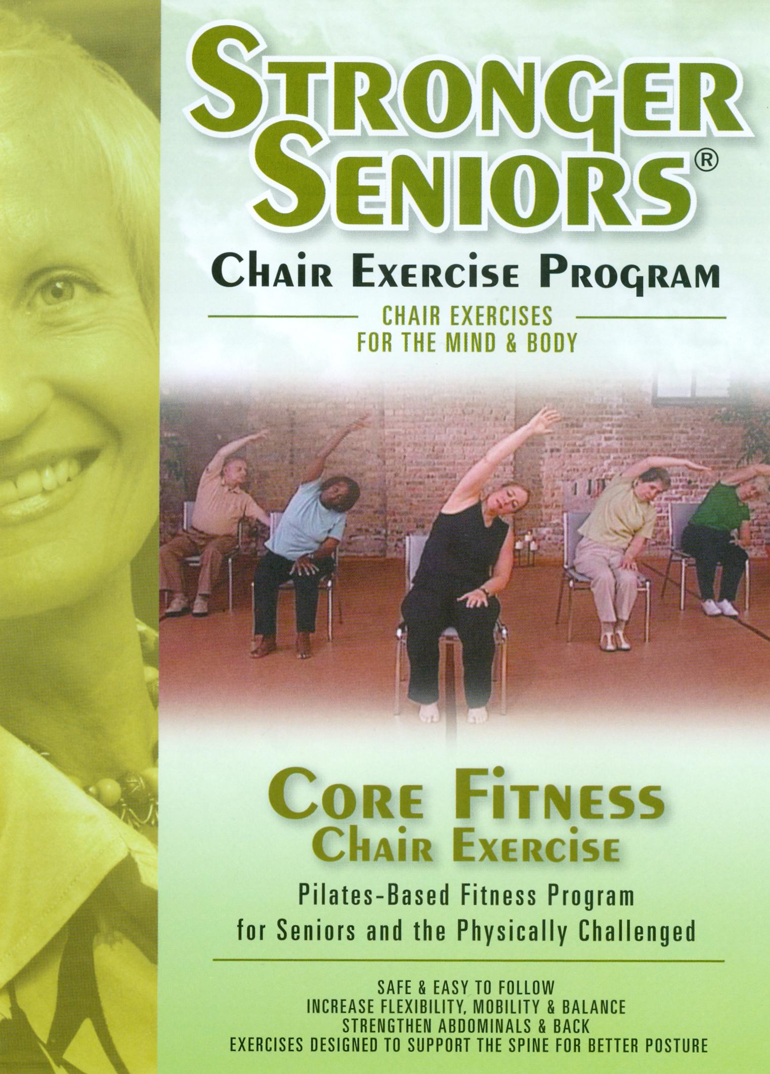 Stronger Seniors: Core Fitness Chair Exercise