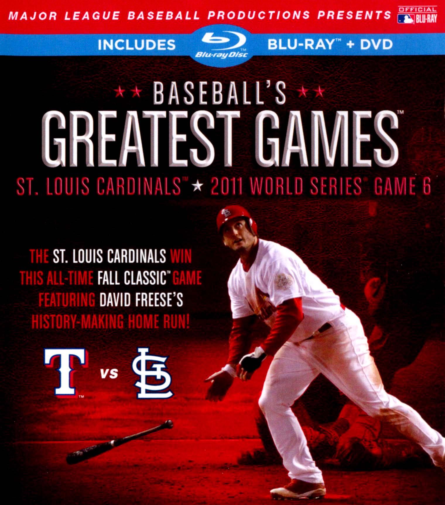 MLB: Baseball's Greatest Games - 2011 World Series Game 6