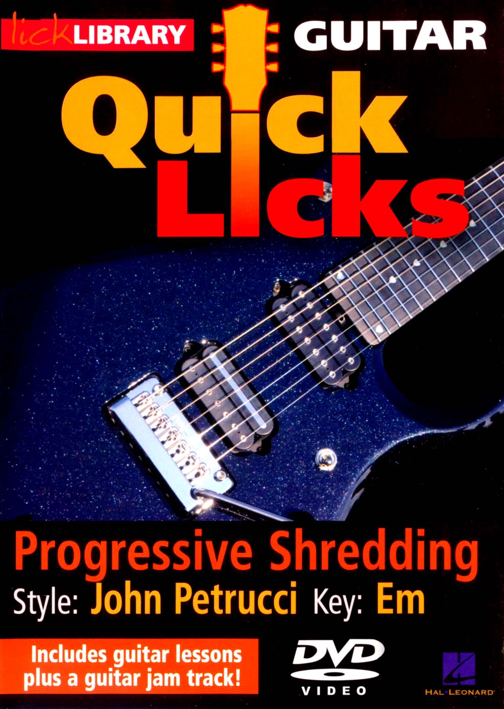 Lick Library: Guitar Quick Licks - Progressive Shredding