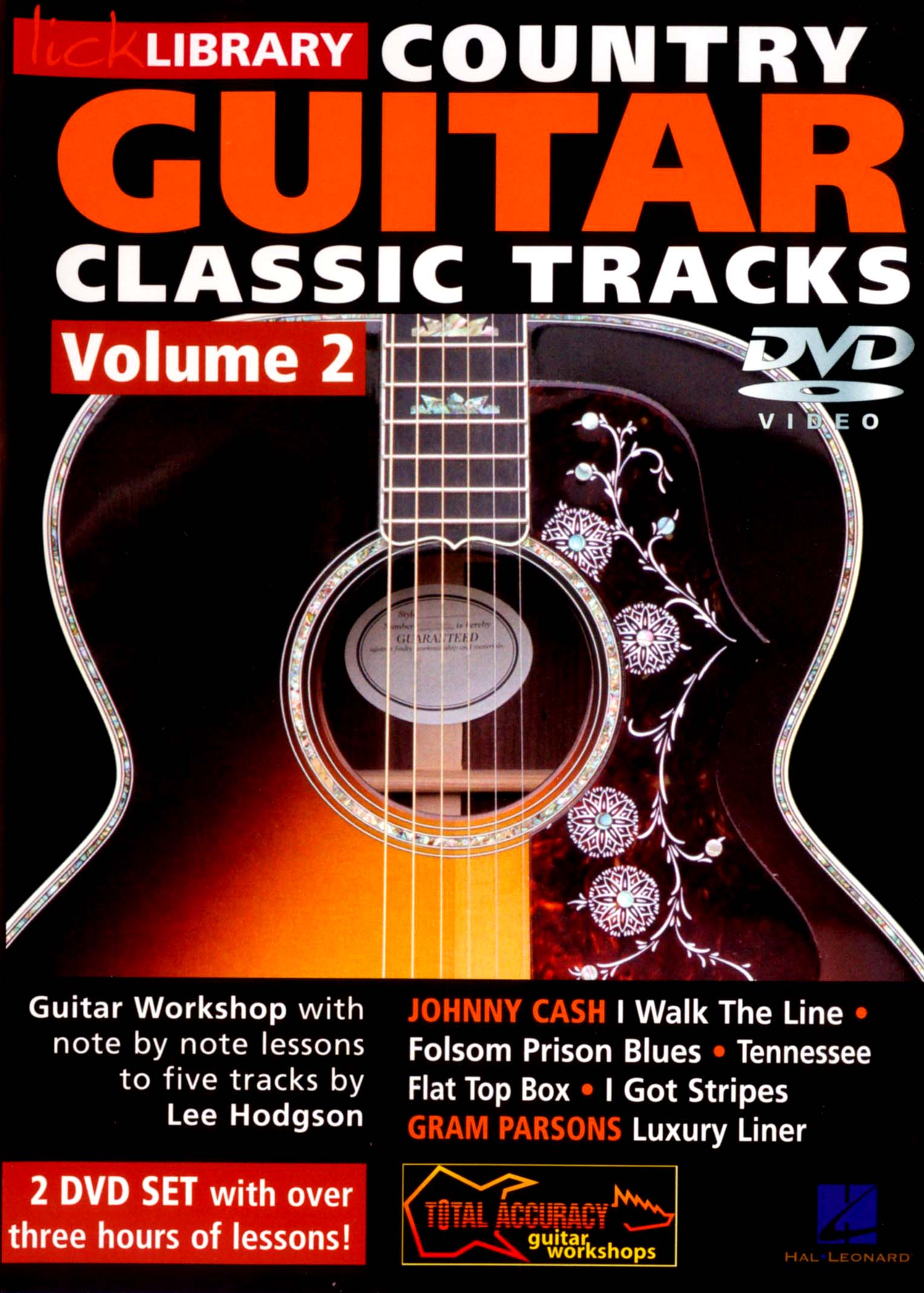 Lick Library: Country Guitar Classic Tracks, Vol. 2
