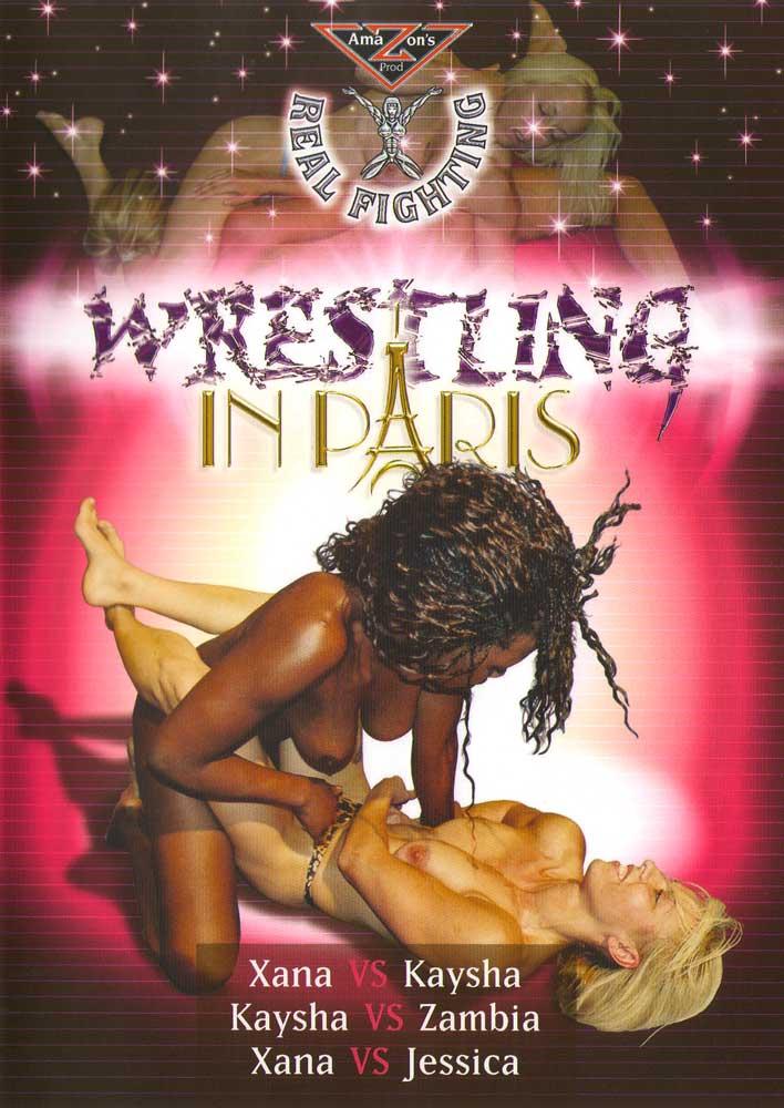 Real Topless Fighting: Wrestling in Paris
