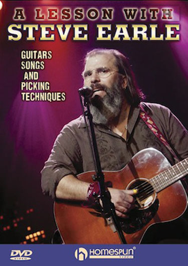 A Lesson with Steve Earle: Guitars, Songs and Picking Techniques