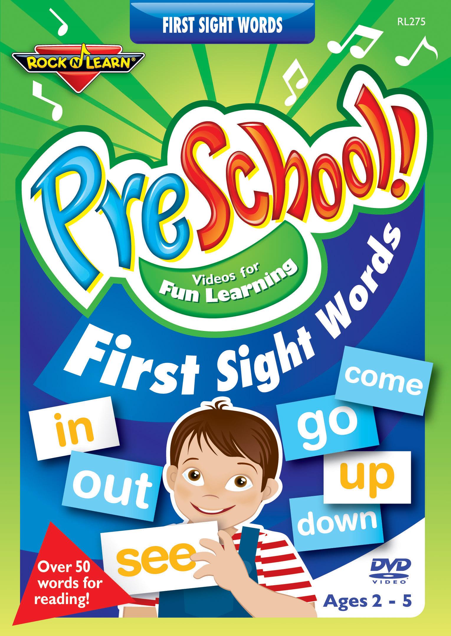 Rock 'N Learn: PreSchool! - First Sight Words