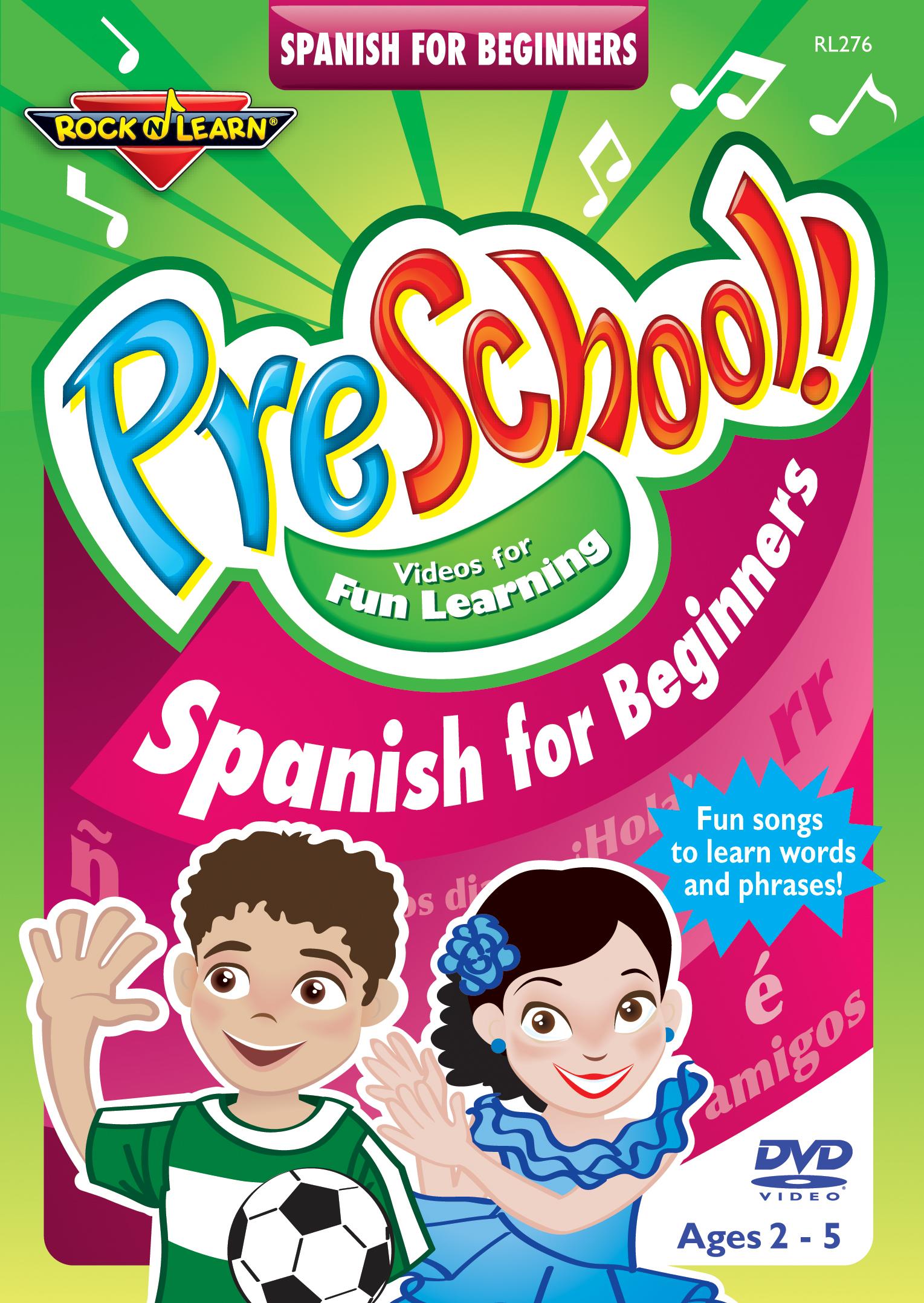 Rock 'N Learn: PreSchool! - Spanish for Beginners