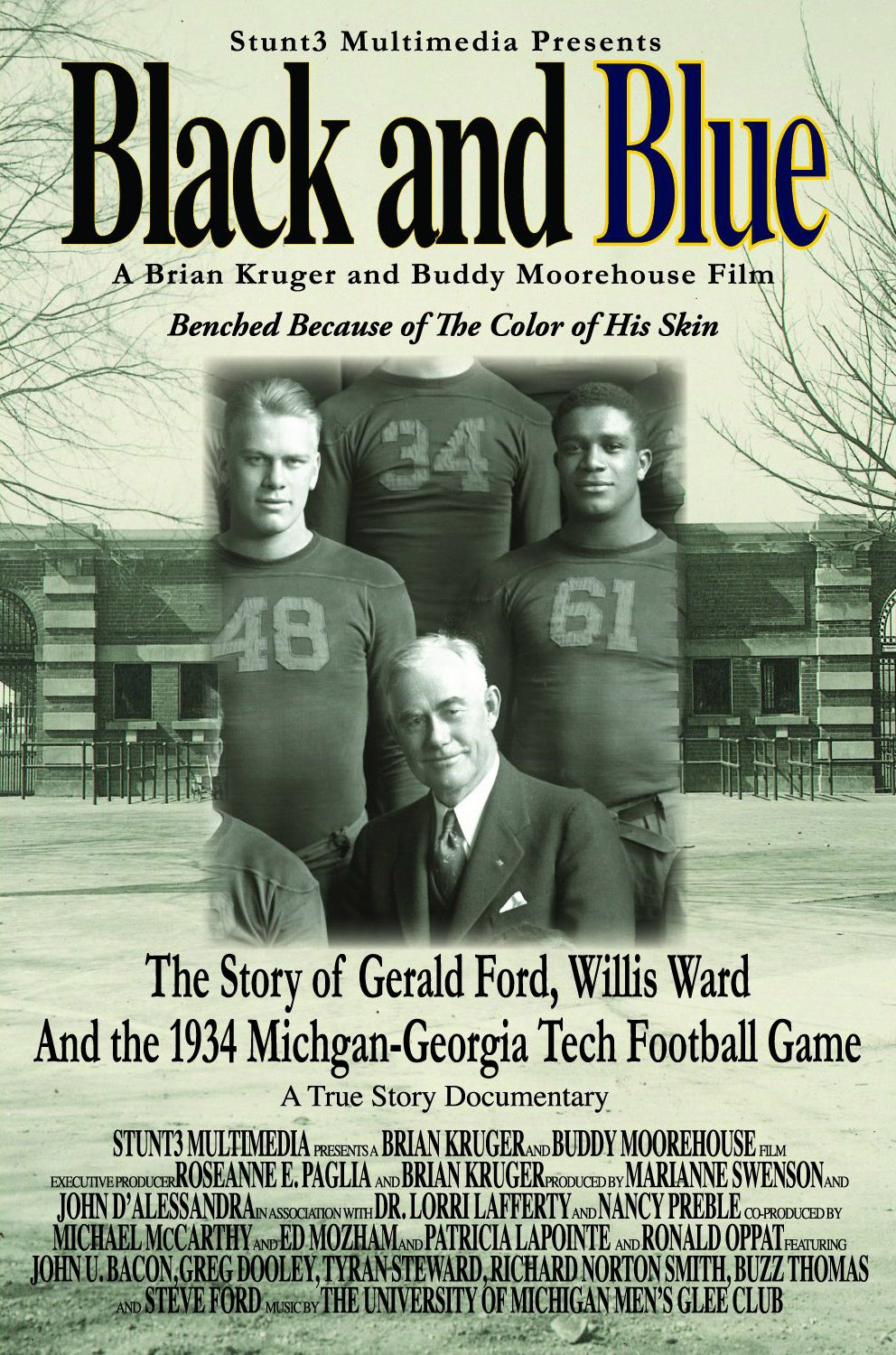 Black and Blue: The Story of Gerald Ford, Willis Ward and the 1934 Michigan-Georgia Tech Game
