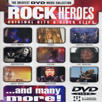 Rock Heroes: Original Hits & Video Clips