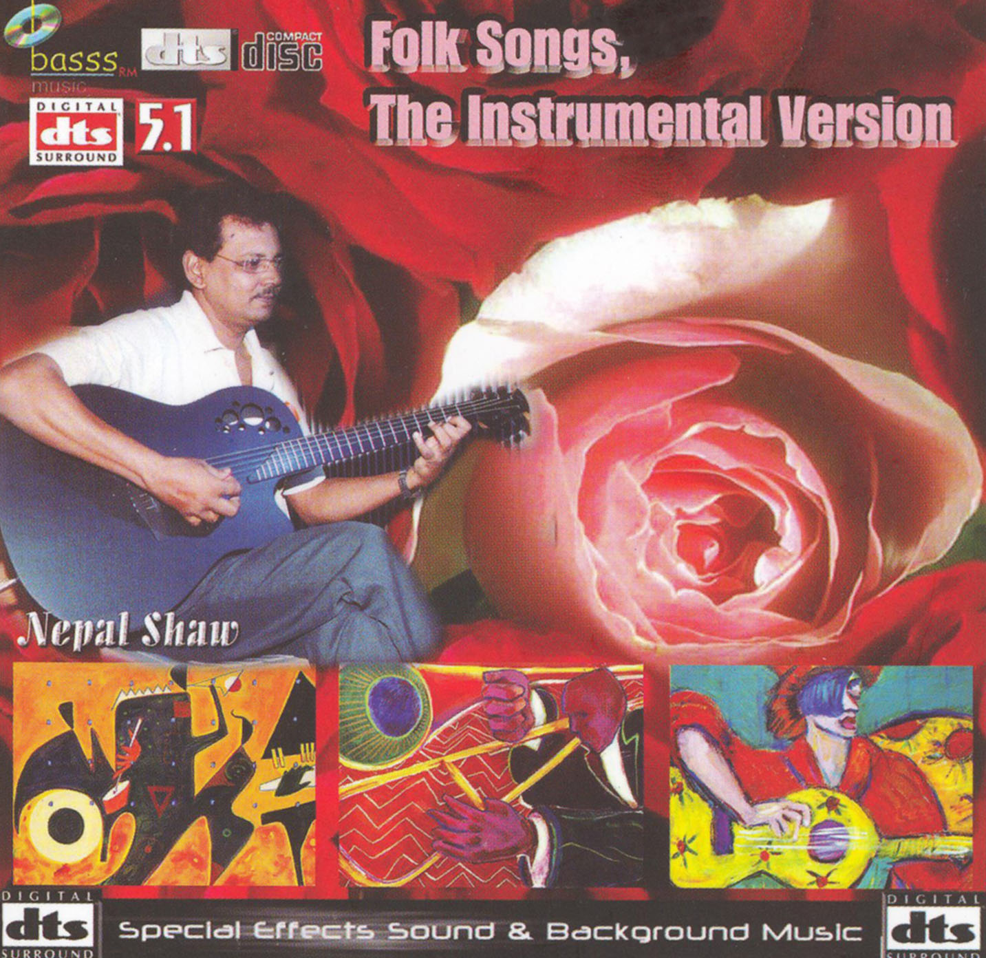Nepal Shaw: Folk Songs - The Instrumental Version