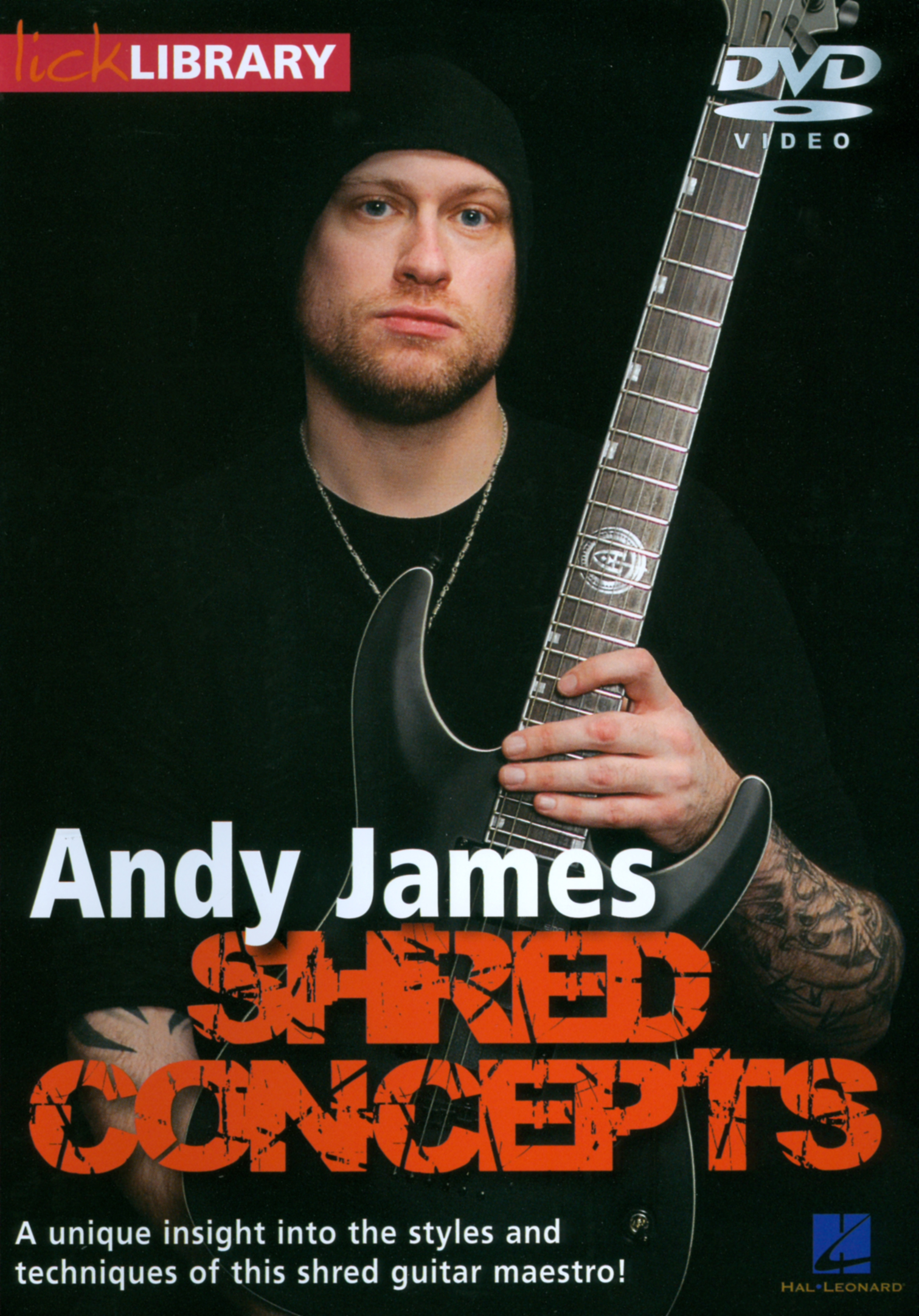 Lick Library: Andy James - Shred Concepts