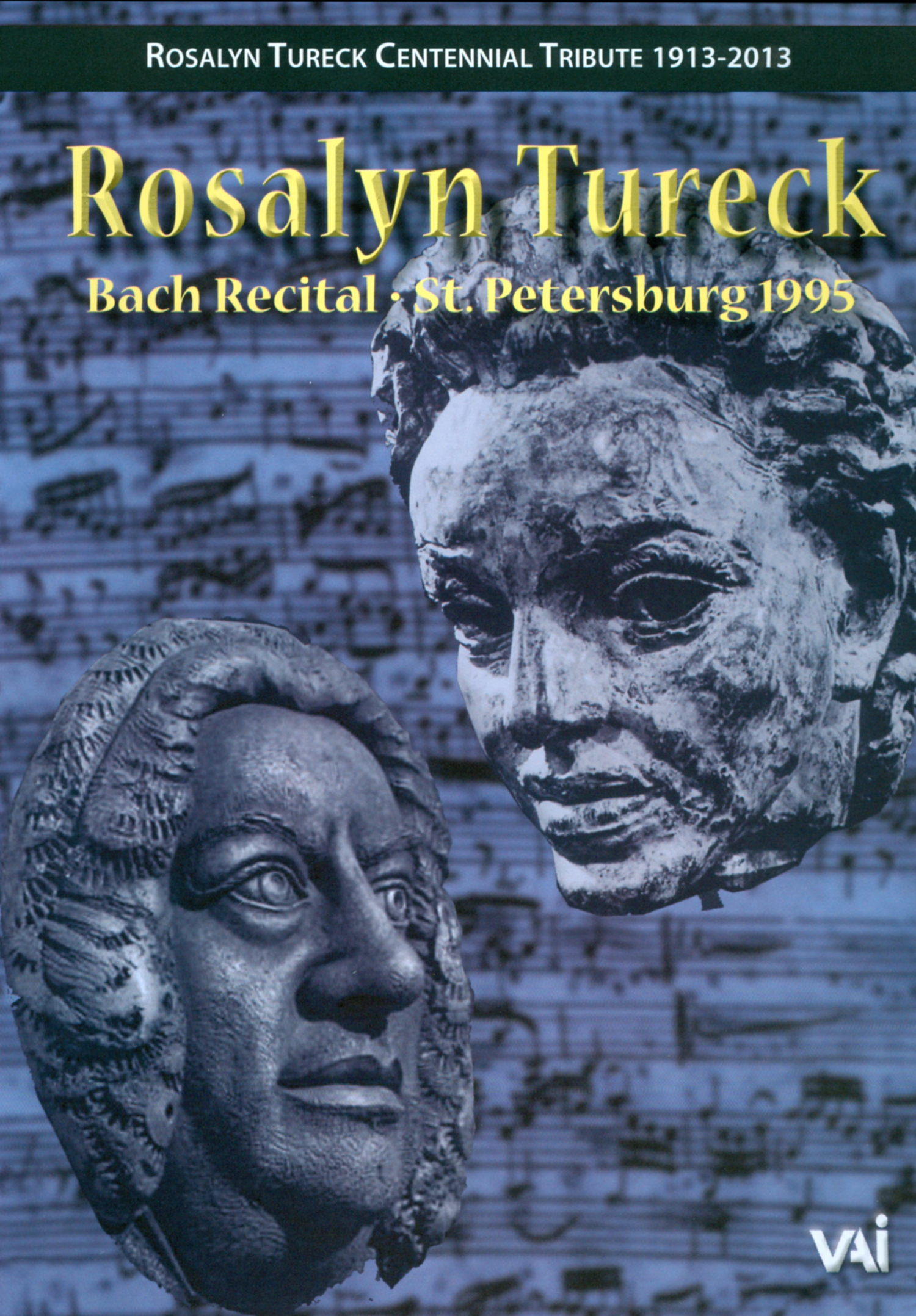 Rosalyn Tureck: Bach Recital and Lecture