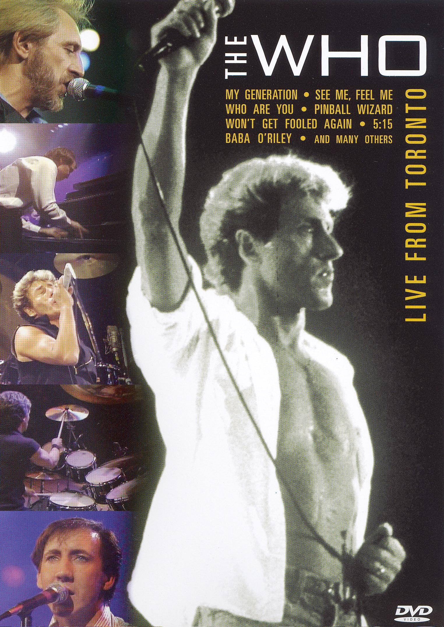 The Who: Live from Toronto