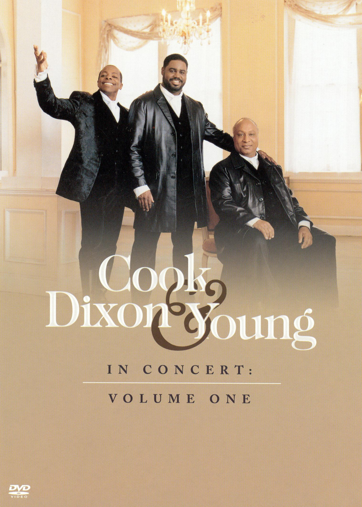 Cook, Dixon and Young: In Concert, Vol. 1