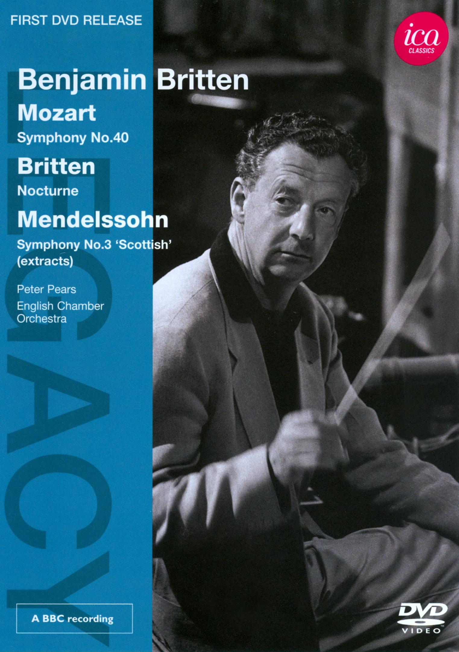 Benjamin Britten/English Chamber Orchestra: Mozart/Britten/Mendelssohn