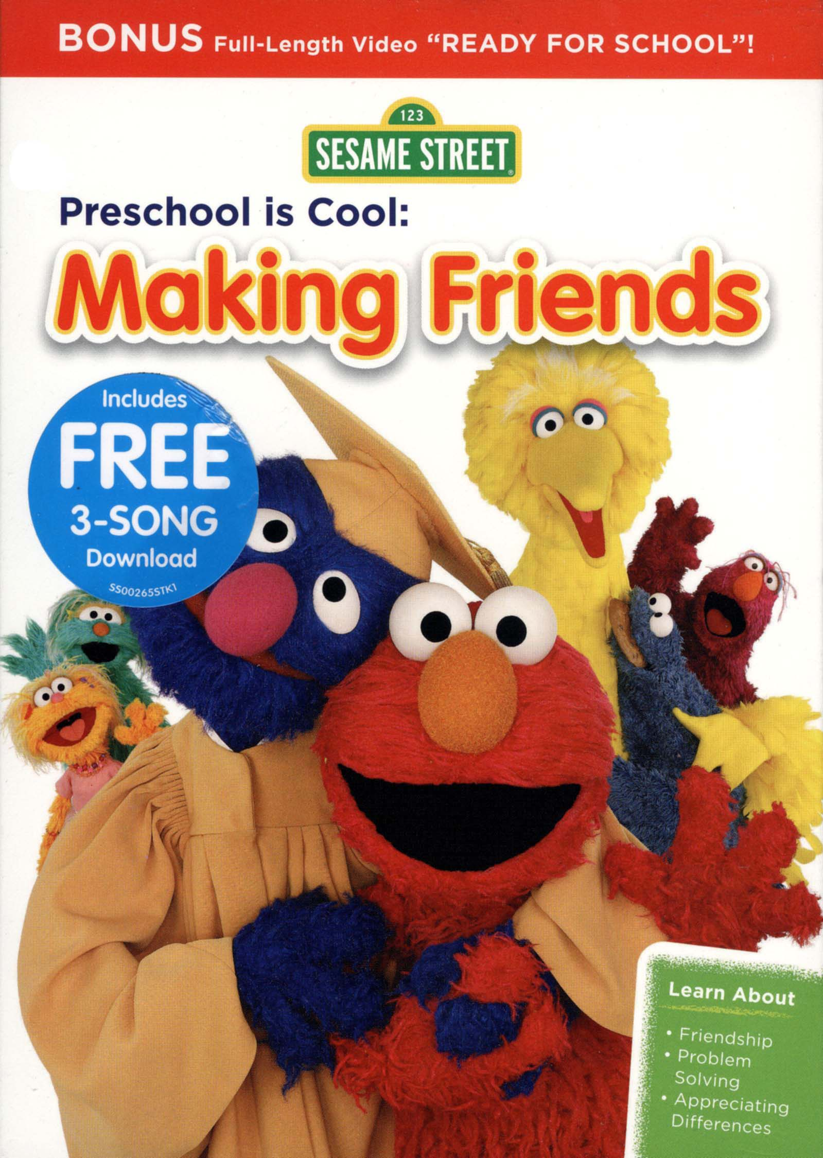 Sesame Street: Preschool Is Cool! - Making Friends