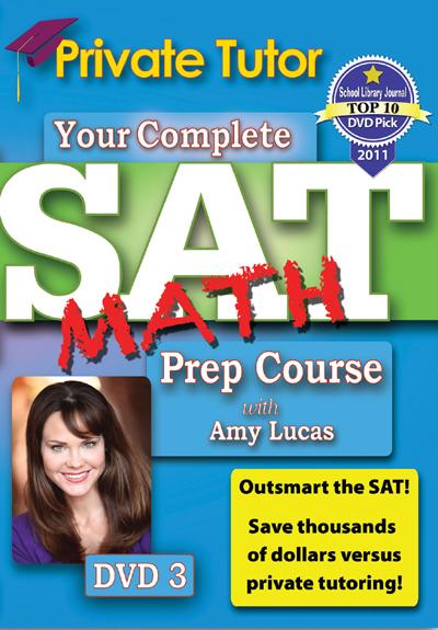 Private Tutor: Math DVD 3 - SAT Prep Course