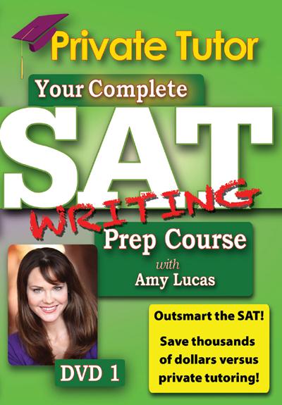 Private Tutor: Writing DVD 1 - SAT Prep Course