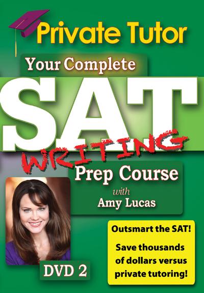 Private Tutor: Writing DVD 2 - SAT Prep Course