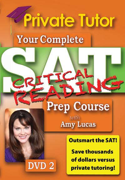 Private Tutor: Critical Reading DVD 2 - SAT Prep Course