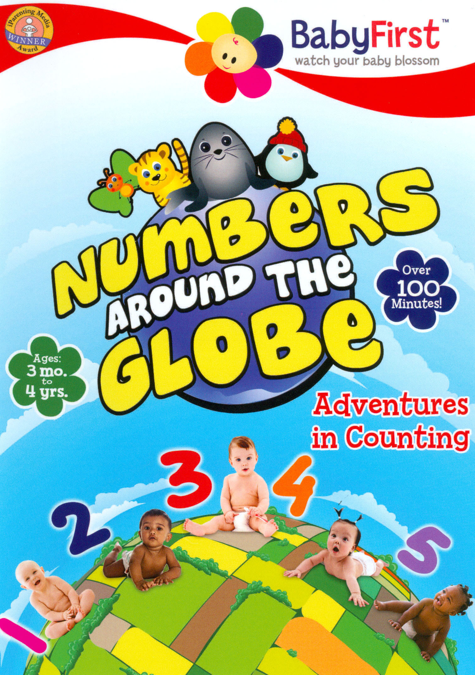 BabyFirst: Numbers Around the Globe - Adventures in Counting