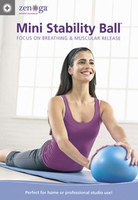 ZEN-GA: Mini Stability Ball - Focus on Breathing & Muscular Release