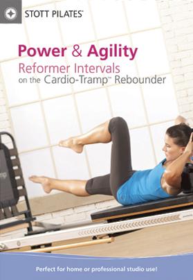 Stott Pilates: Power & Agility - Reformer Intervals on the Cardio-Tramp Rebounder