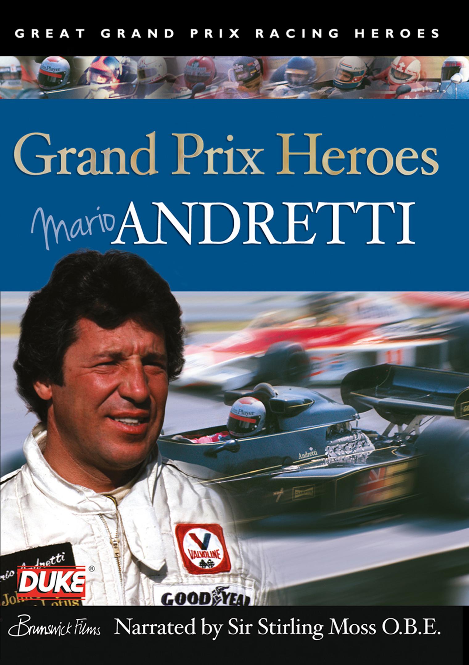 Grand Prix Heroes: Mario Andretti