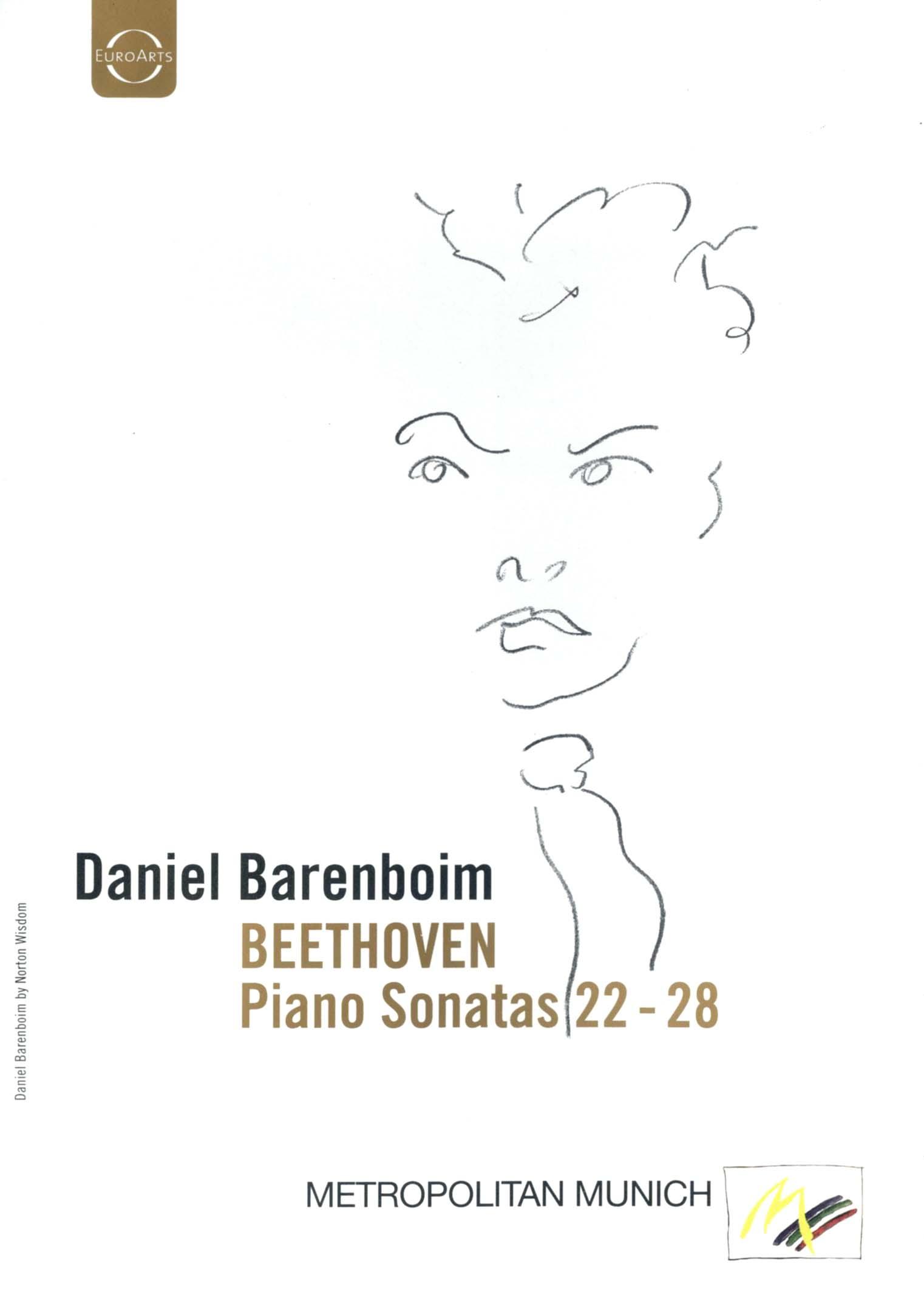 Daniel Barenboim: Beethoven - Piano Sonatas 22-28