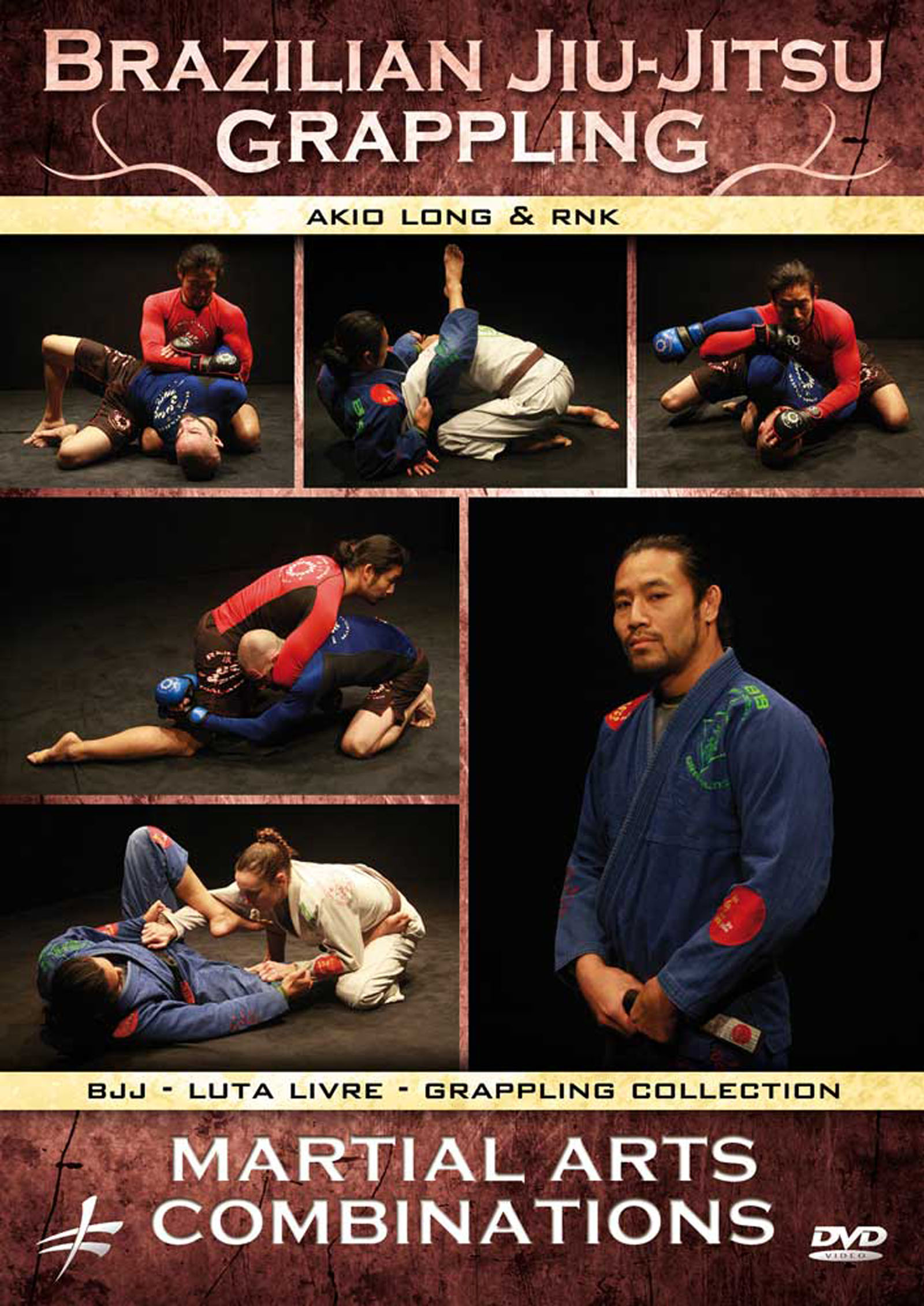 Brazilian Jiu-Jitsu Grappling: Martial Arts Combinations