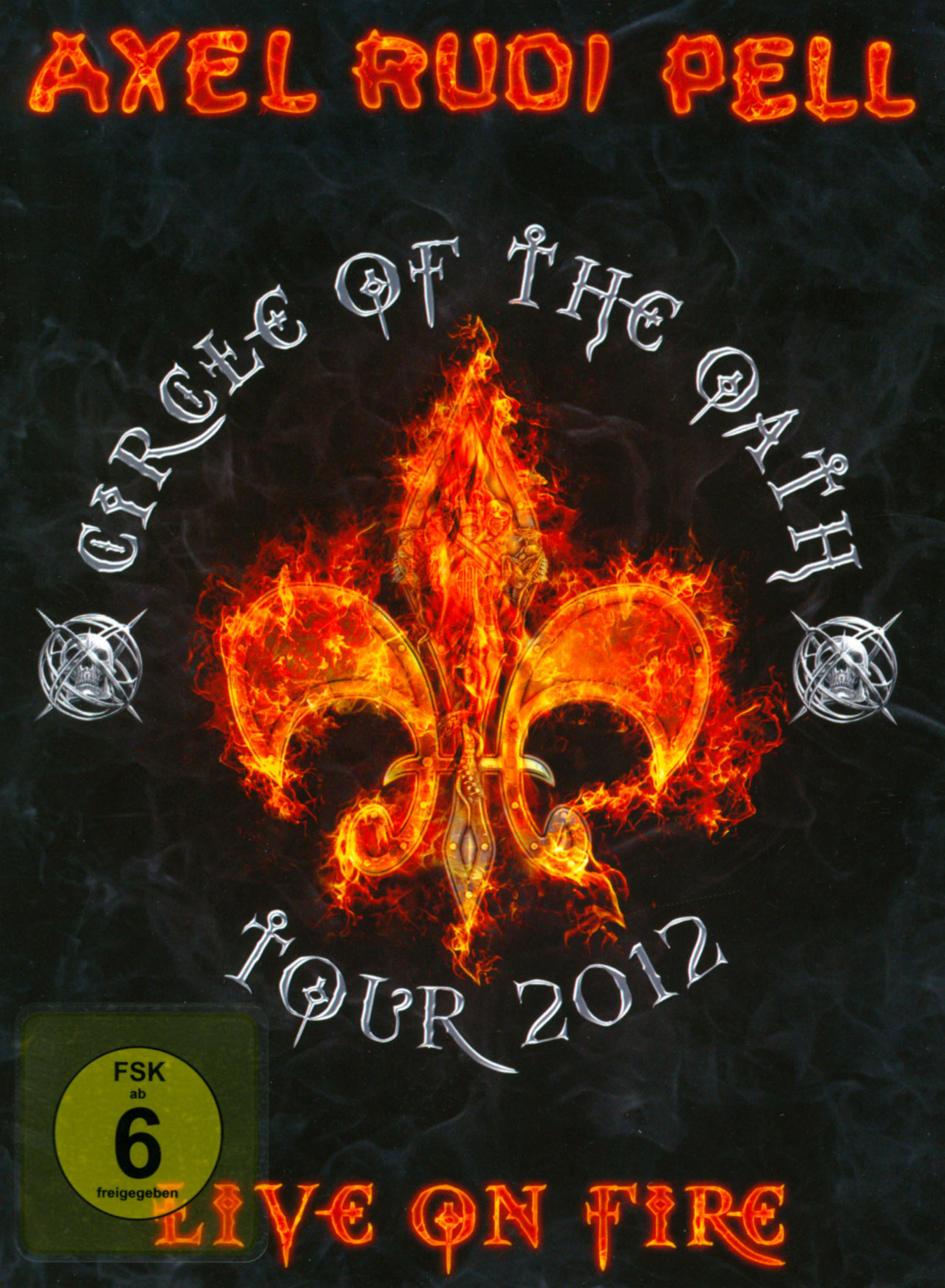 Axel Rudi Pell: Live On Fire