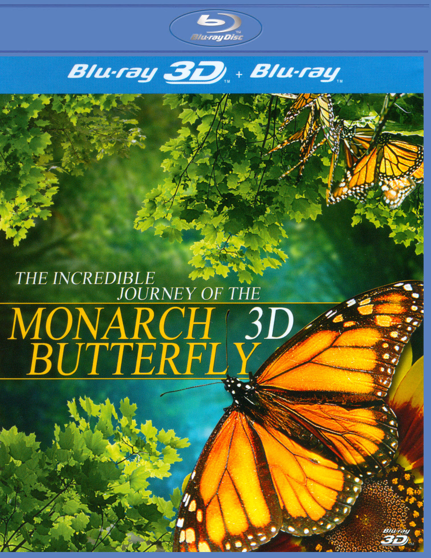 The Incredible Journey of the Monarch Butterfly 3D
