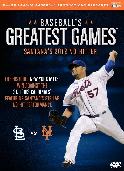 MLB: Baseball's Greatest Games - Santana's 2012 No-Hitter