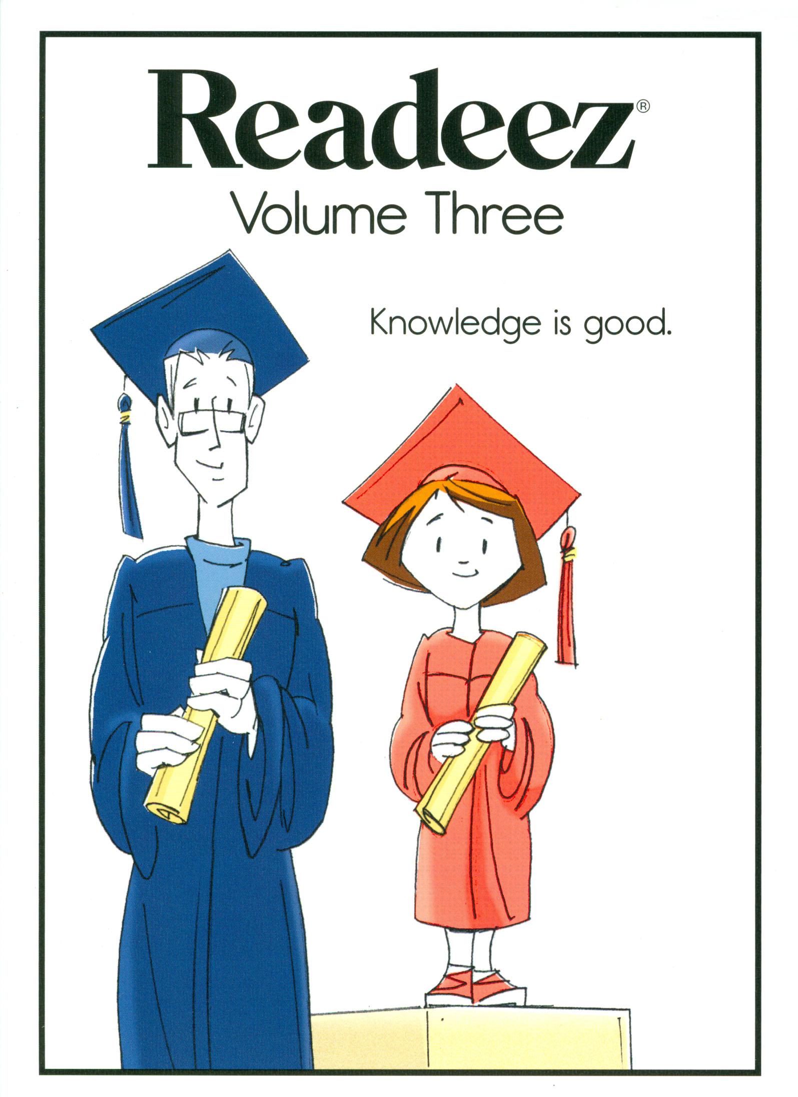 Readeez, Vol. 3