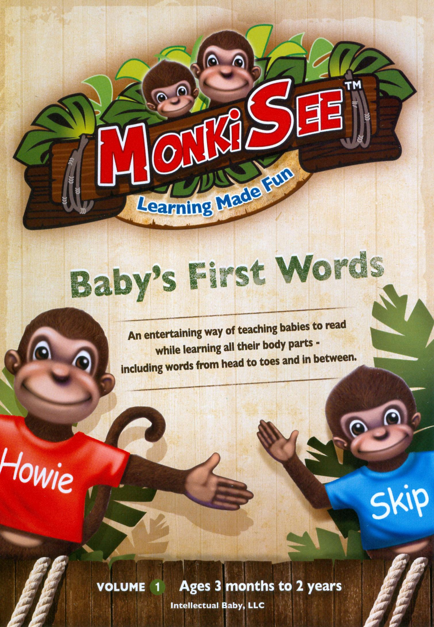 MonkiSee: Baby's First Words