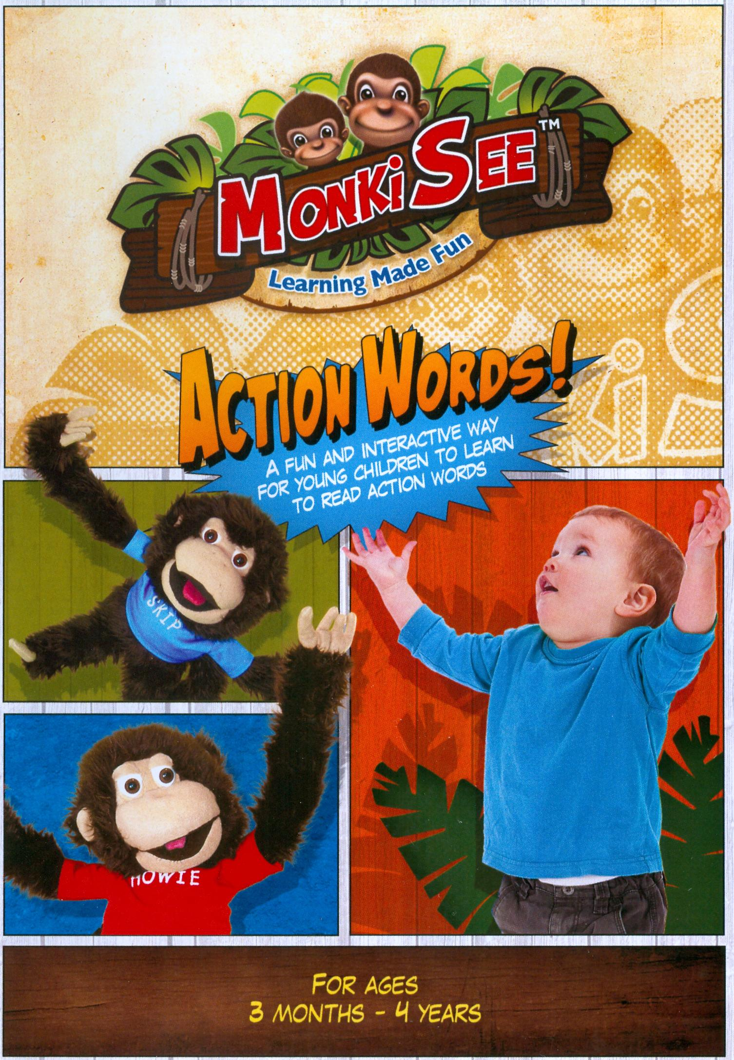 MonkiSee: Action Words