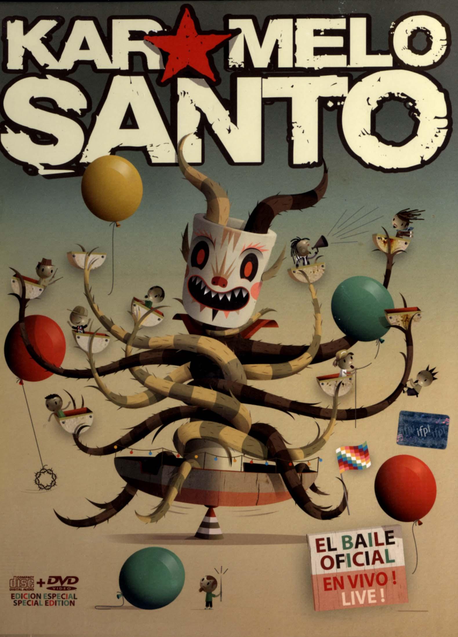 Karmelo Santo: El Baile Oficial - En Vivo/Live