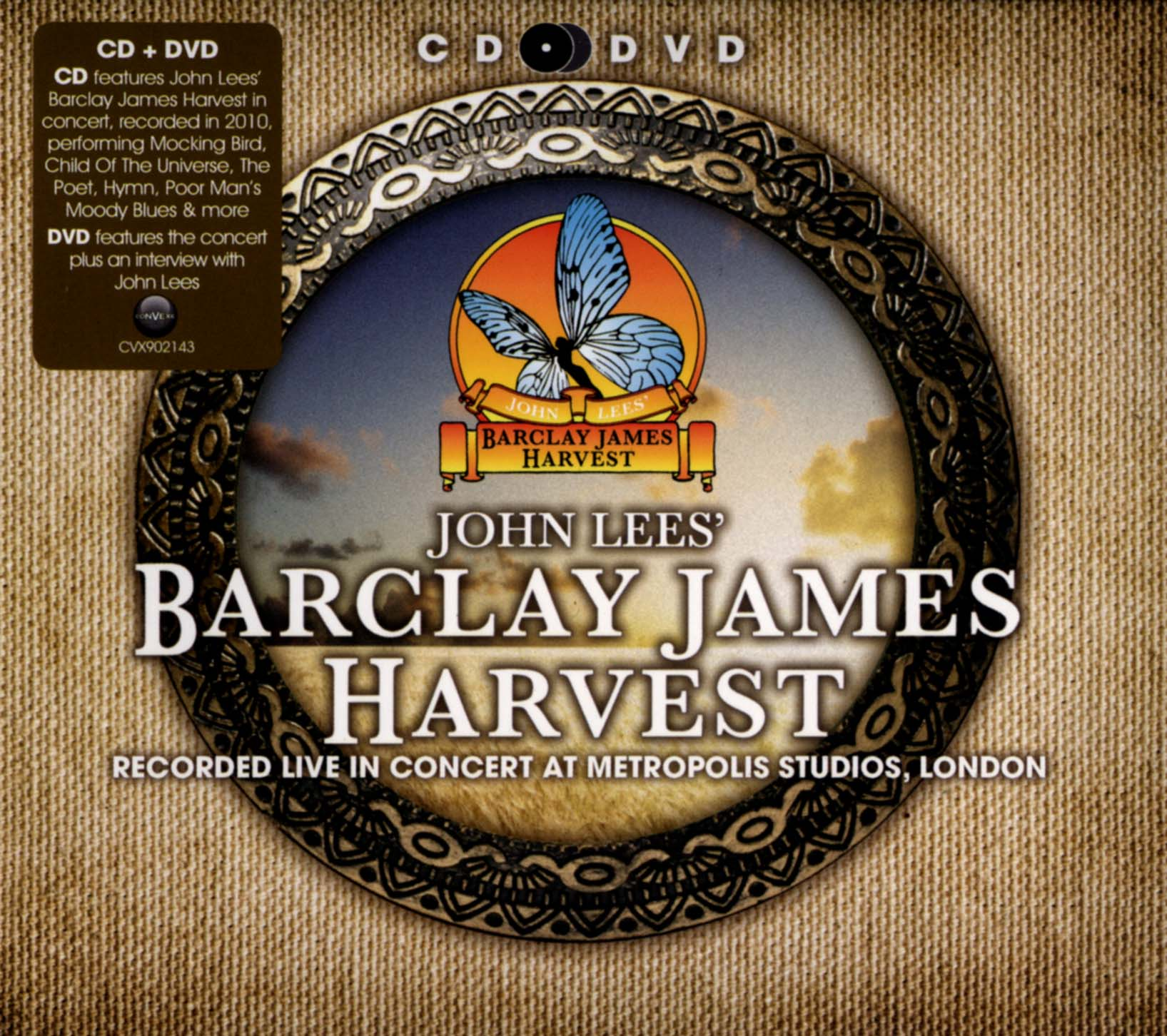 John Lees' Barclay James Harvest: Recorded Live in Concert at Metropolis Studios, London