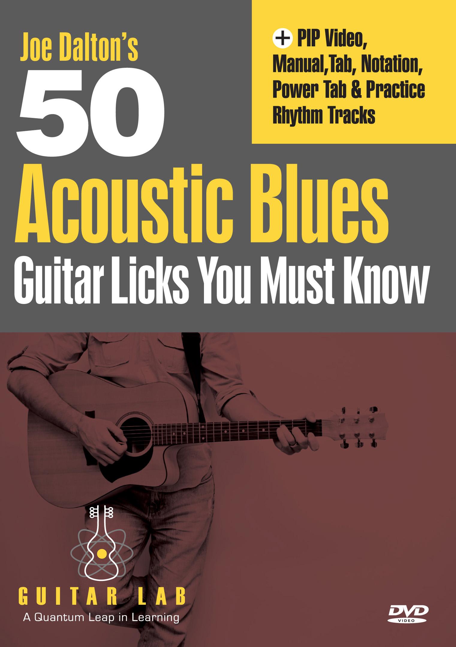 Joe Dalton's 50 Acoustic Blues Guitar Licks You Must Know