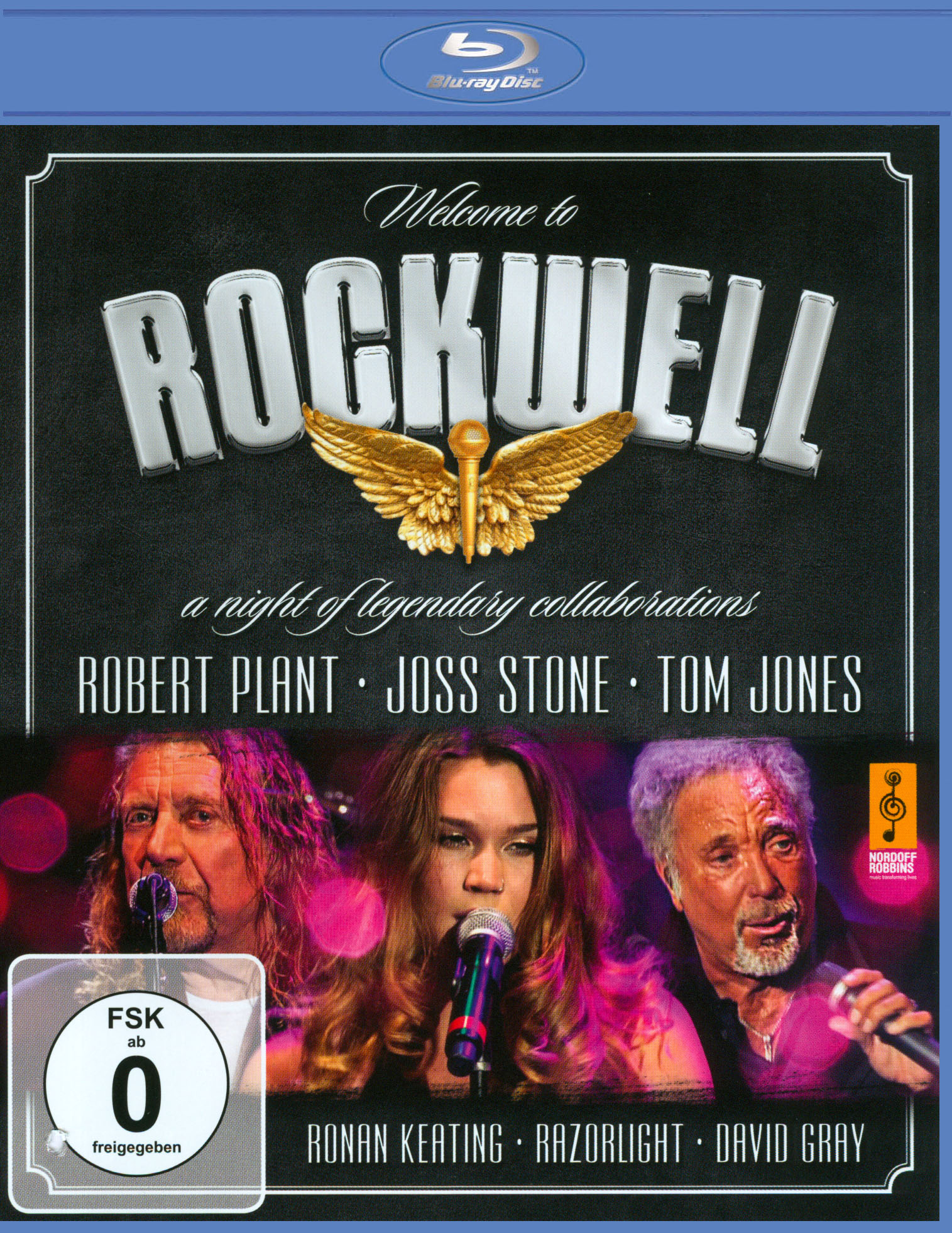 Welcome to Rockwell: A Night of Legendary Collaborations