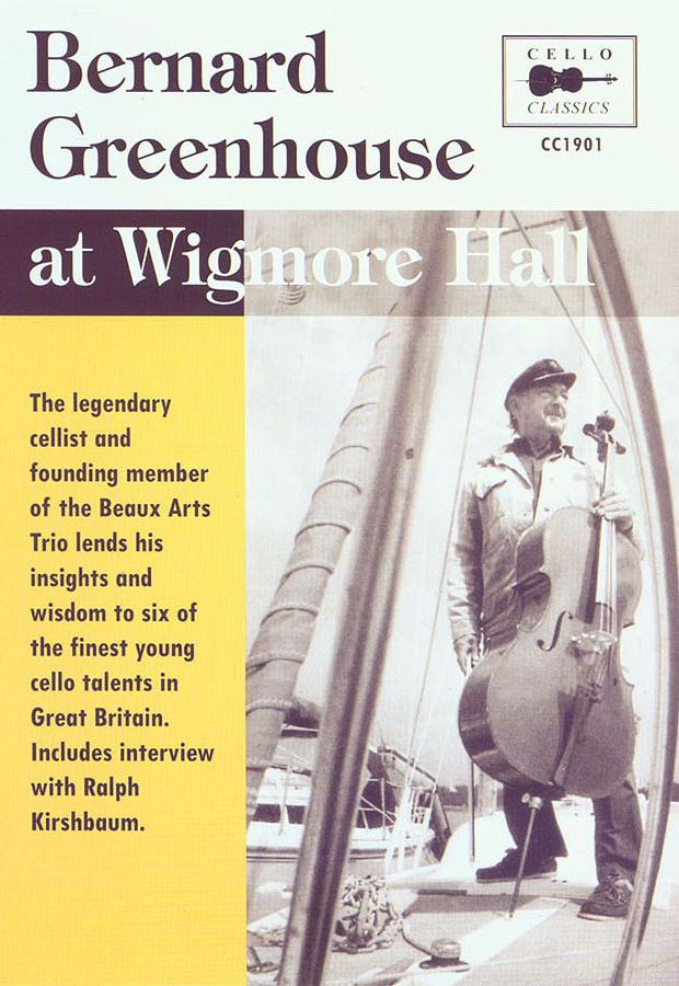Bernard Greenhouse: Wigmore Hall