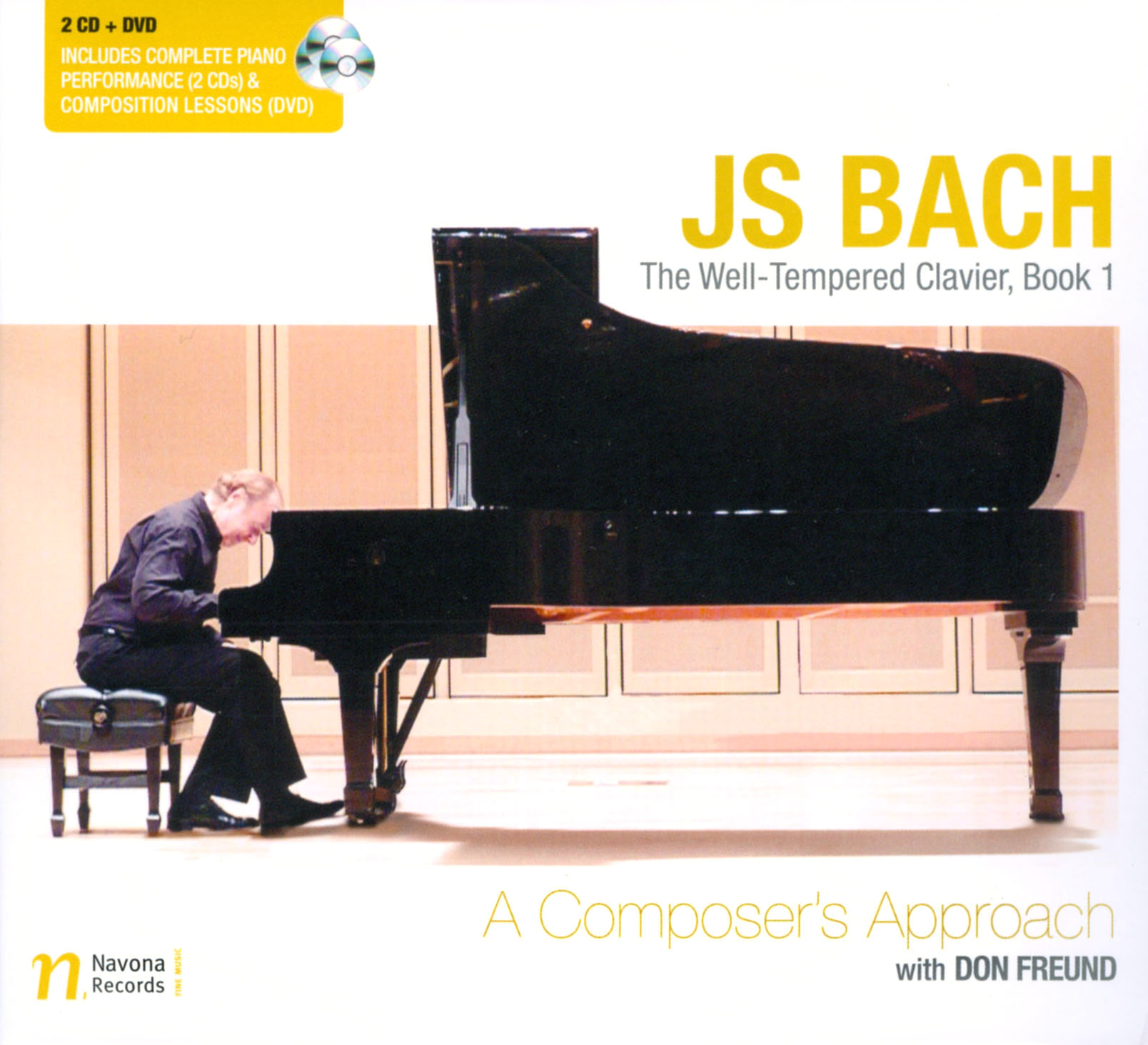Don Freund: Composition Lessons with JS Bach - A Composer's Approach