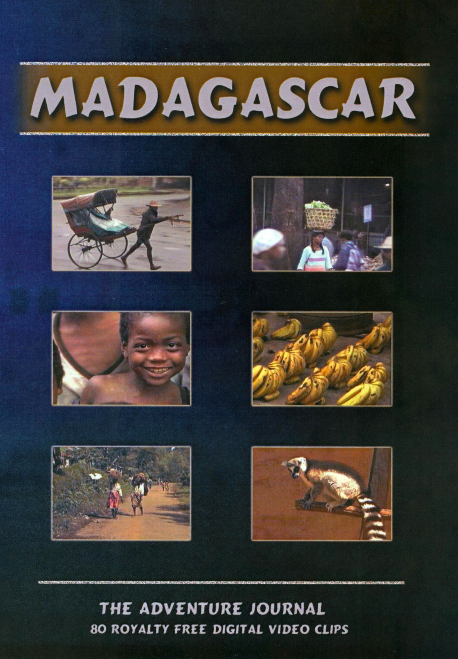Madagascar: The Adventure Journal - 80 Royalty Free Digital Video Clips