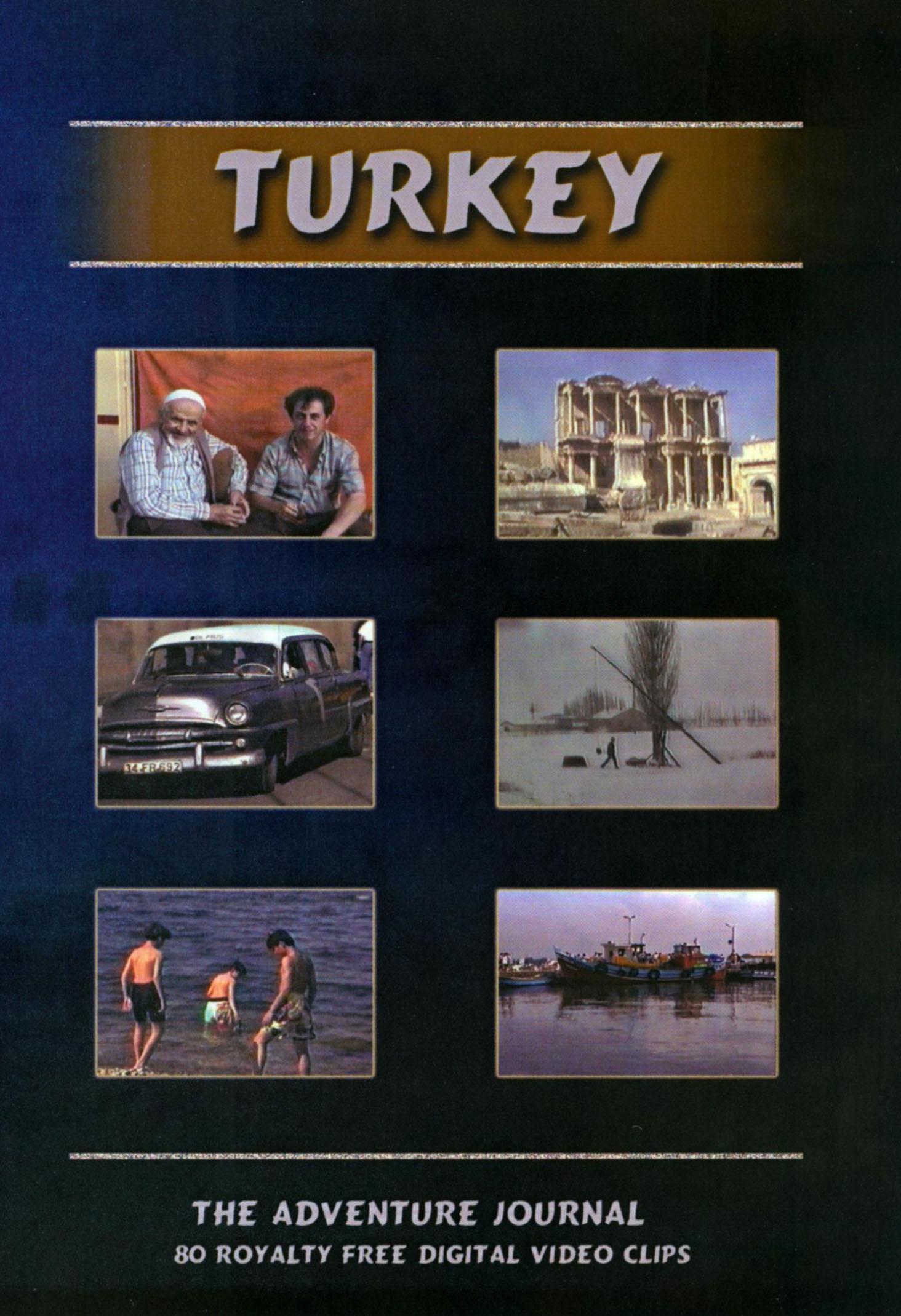 Turkey: The Adventure Journal - 80 Royalty Free Digital Video Clips