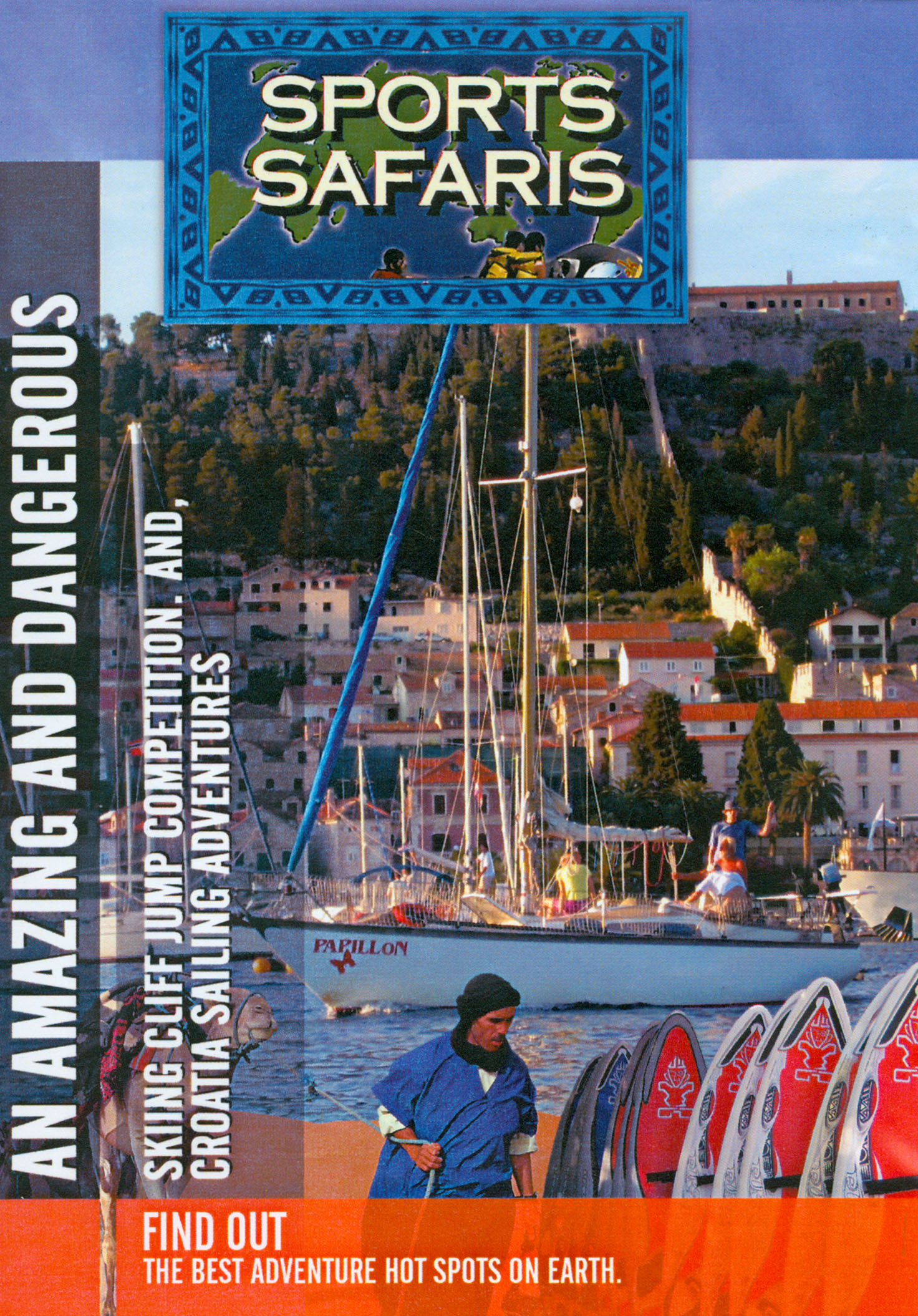 Sports Safaris: An Amazing and Dangerous Sking Cliff Jump Competition and Croatia Sailing